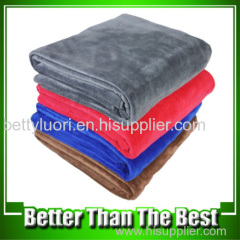 Microfiber Solid Color Bath Towel