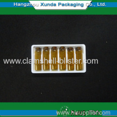 Plastic medical packaging tray