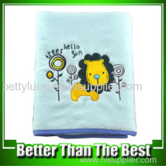 Baby Cotton Embroidery Bath Towel