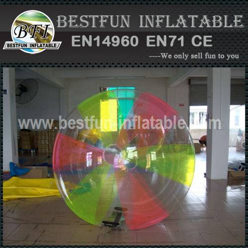 PVC Inflatable Colored Water Ball With Ti-zip From Germany
