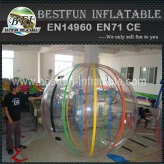 Customized clear inflatable water ball