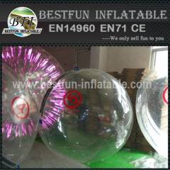 Inflatable floating water ball for sale