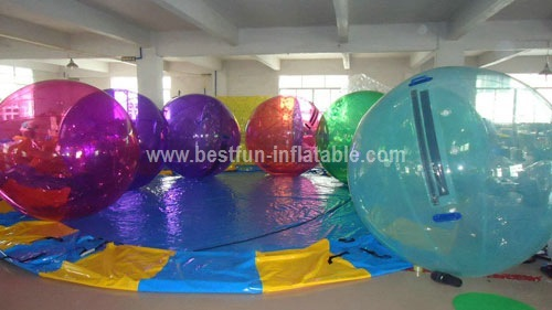 Bright color human sphere water ball