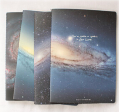 Galaxy/Star/Sky Address Notebook/Journal(Wide ruled)