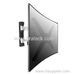 Aluminum Full-motion Curved TV Wall Mount for 23-55'' screen