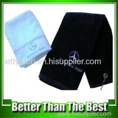 Cotton Velor BENZ Golf Towel