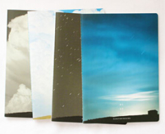 Sky/Cloud Wide Ruled Composition Notebook