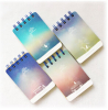 Mini Spiral Bound Notepad With Light Colors