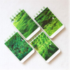 Green Tree Natural Themed Pocket Double Wires Notepad/Diary