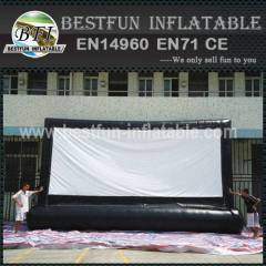 Advertising inflatable movie screen with high quality