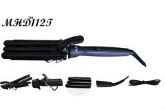 triple barrel PTC cerramic hair curling iron manufacturer