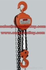 Chain pulley blocks details