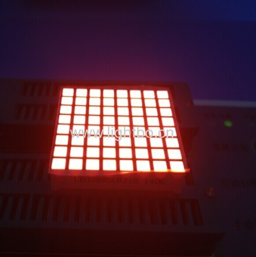 Bi-color Super Red & Super Green 3mm 8 x 8 Square Dot Matrix LED Display for Elevator Position Indicator 31.7*31.7*8mm