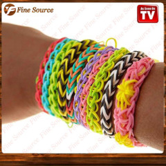 New Designed Decorations Loom bands DIY RAINBOW BANDS