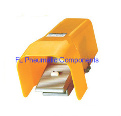 Pneumatic Foot Valve with Lock and Cover