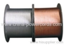 Tinned copper clad steel wires (conductivity 15%)