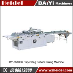 Sheet Feeding Paper Bag Bottom Gluing Machine