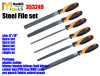 hand steel file set wood rasp aluminium mill muti-fuction files and in set DIY professional quality NEW 2014 model