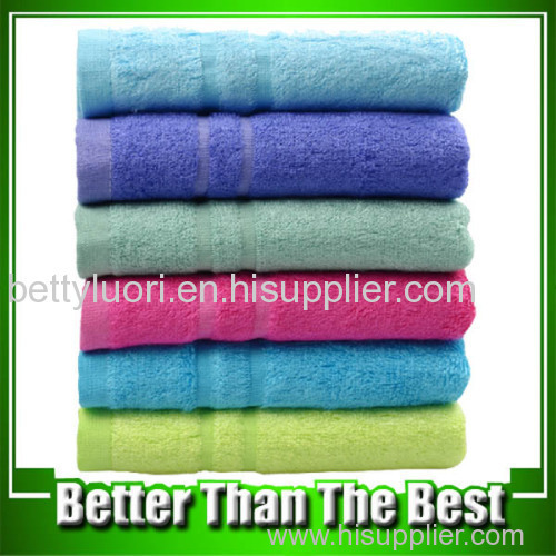 Bamboo Colorful Face Towel