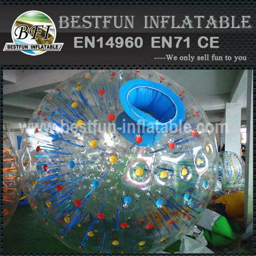 CE certification PVC body zorb ball