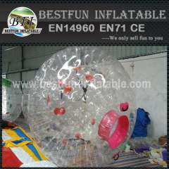 High quality inflatable water zorb ball
