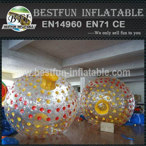 Outdoor playground inflatable zorb ball