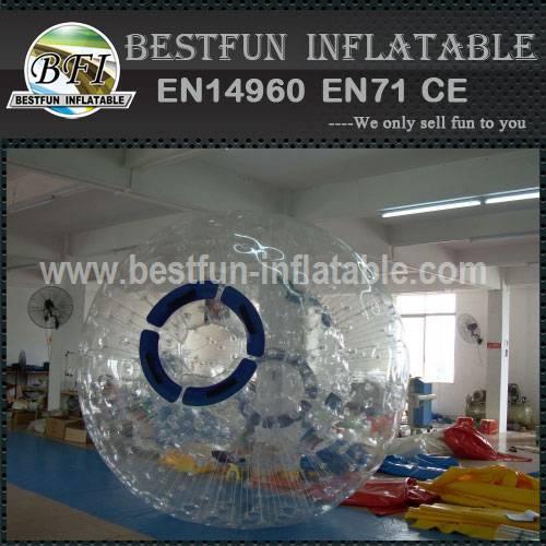 Inflatable kids grass zorb balls