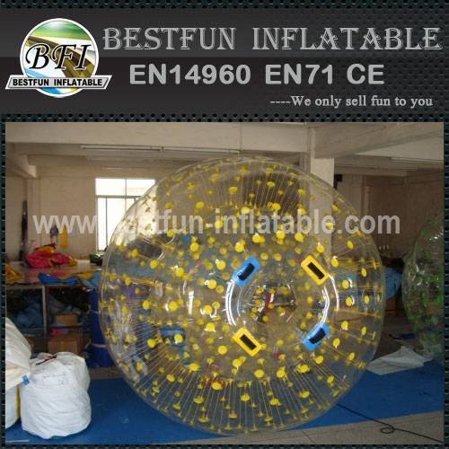Inflatable body zorbing ball for kids