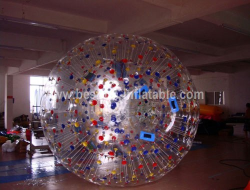 Commercial grade inflatable zorb ball