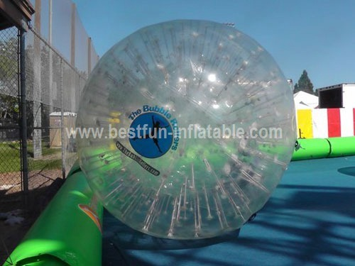 Crazy fun inflatable water roller ball
