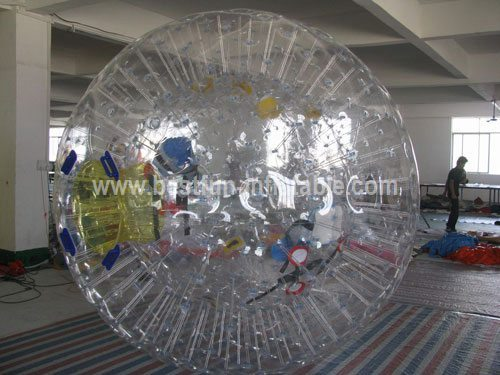 Firm harness dry ride zorb ball
