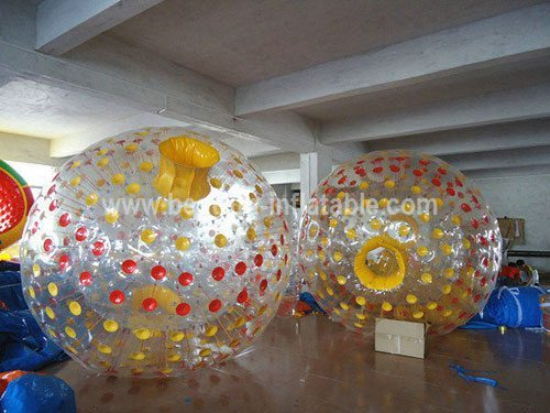 Hot PVC inflatable aqua zorbing ball