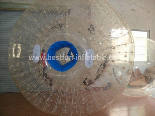 Color strips PVC inflatable water zorb ball