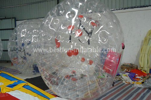 Commercial grade inflatable grass ball