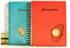 A5 Fancy Wristwatch Spiral Hardcover Diary/Journal
