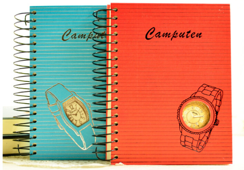 A5 Fancy Wristwatch Spiral Hardcover Diary/Journal