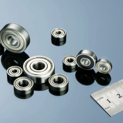 Inch Size Miniature Ball Bearings OPEN Z ZZ RS 2RS Flanged Type