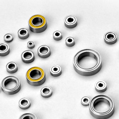 Metric Size Miniature Ball Bearings 688 L1680 OPEN Z ZZ RS 2RS Flanged Type