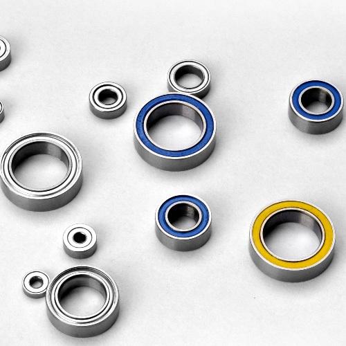 Metric size miniature ball bearings open z zz rs