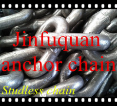 Grade U2 U3 Studless welded Link Anchor Chain