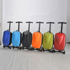 New case travel bags Children's Scoooter Suitcase