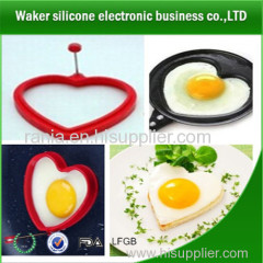 heart shape silicone egg ring / cook the egg for who you love