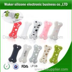 Promotion silicone dog bones cable winder