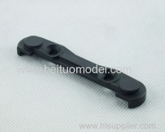 Front lower suspension shaft front cover for rc car