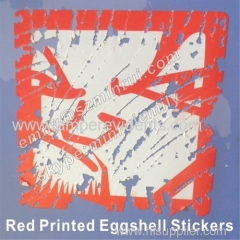 Printed Eggshell Stickers for Graffiti Writer