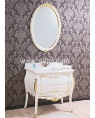 white PVC bathroom cabinet for middle east market