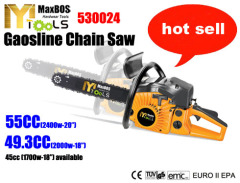 Gasoline Chain Saw good quality only 25.4cc 35.8cc 37.2cc 41cc 45cc 49.3cc 55cc 62cc