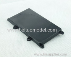 Power supply hatch cover for 1/5 scale rc car