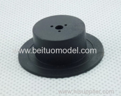 Plastic gas cap component for 1/5 rc truck