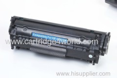 Black laser toner cartridges for hp 2612A